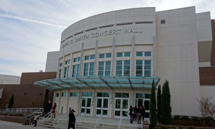The Mark C. Smith Concert Hall, at the Von Braun Center. (Mary Silver/Epoch Times)