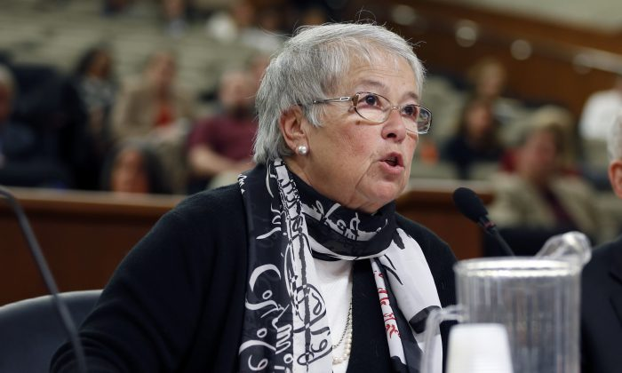 New York City Department of Education Chancellor Carmen Fariña testifies during a joint legislative budget hearing on education Albany, N.Y., Jan. 28, 2014. (Mike Groll/AP)