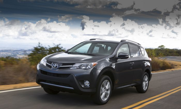 2014 Toyota RAV4 (Courtesy of Toyota)