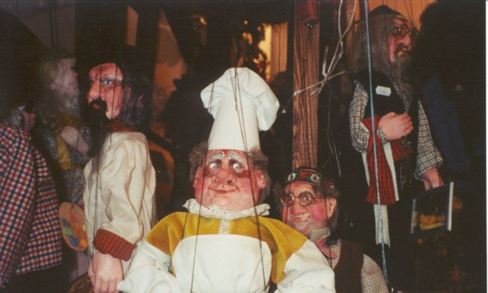 Marionette puppets abound in the Czech Republic where marionette performances have a long and storied history (Susan Hallett)