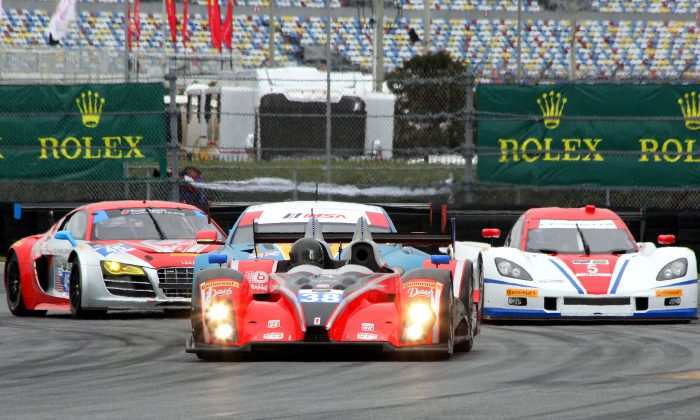 Sixty-one cars have entered the 52nd TUSC Rolex 24 at Daytona, the amount of driving talent represented is almost ridiculous. (Chris Jasurek/Epoch Times)