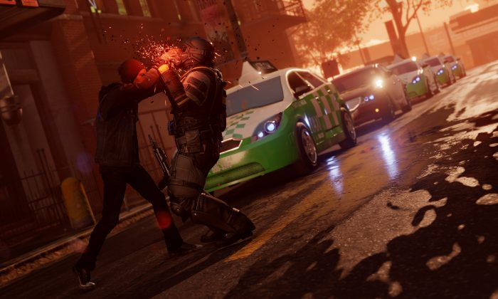 """This photo provided by Sucker Punch Productions shows a scene from the video game, """"inFamous: Second Son."""" (AP Photo/Sucker Punch Productions)"""