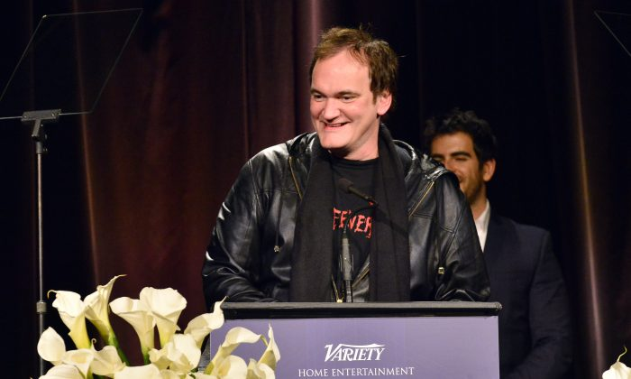 Director/Producer Quentin Tarantino attends the 33rd annual Variety Home Entertainment Hall of Fame on December 10, 2013 in Los Angeles, California. (Photo by Jerod Harris/Getty Images for Variety)