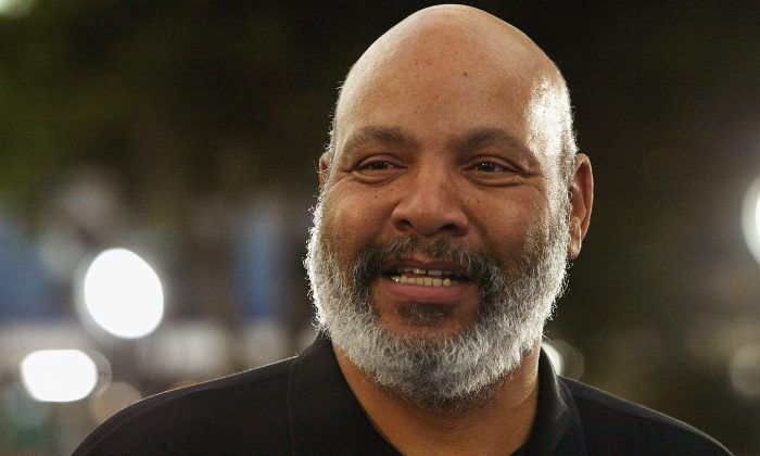 Actor James Avery in Los Angeles, Calif., on  July 7, 2004. (Photo by Mark Mainz/Getty Images)