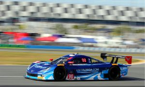 Spirit of Daytona Tops Field, Vipers Sweep GTLM in Second Practice for TUSC Rolex 24 at Daytona
