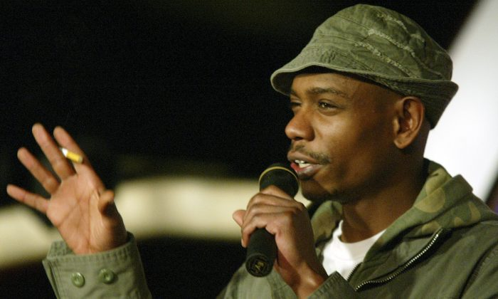 Dave Chappelle, in a 2004 file photo, is set to go on a tour in 2014 in Australia. (AP Photo/Stuart Ramson)
