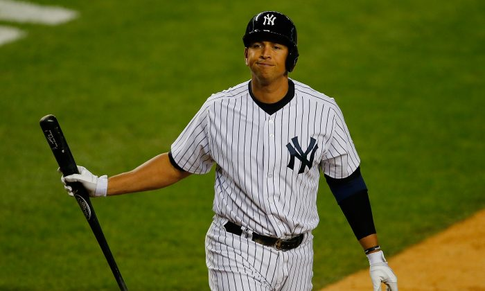 Alex Rodriguez will sit out the entire 2014 season. What the Yankees will do after that is anyone's guess. (Mike Stobe/Getty Images)