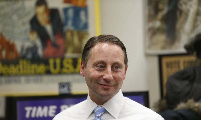 Westchester County Executive Robert Astorino at the state capitol in Albany, N.Y. on Jan. 7, 2014. (Mike Groll/AP)