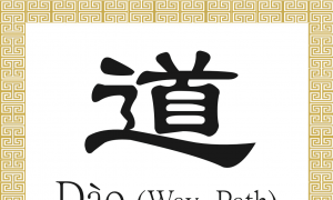 Chinese Character for Way, Path: Dào (道)