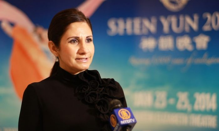The Shen Yun Performing Arts show at the Queen Elizabeth Theatre in Vancouver on Jan. 24, 2014, left Claudia Duffield with a renewed appreciation for China's 5,000-year-old culture and history. (NTD Television)