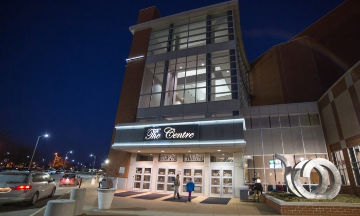 Aiken Theatre at The Centre, in Evansville. (Epoch Times)