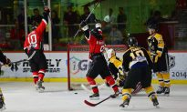 Aces Extend Their Lead in CIHL League