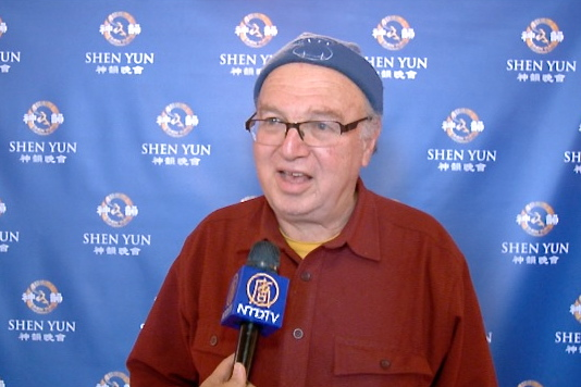 Professor David Zilberman felt great joy while watching Shen Yun Performing Arts on Jan. 8. (Courtesy of NTD Television)