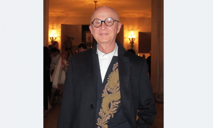 Interior designer Orlando Diaz-Azcuy was at the War Memorial Opera House in San Francisco to see Shen Yun Performing Arts, Jan. 11. (Jennifer Liang/Epoch Times)