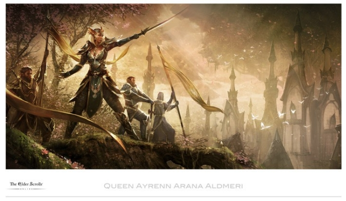 Queen Ayrenn Arana Aldmeri: Aldmeri Dominion