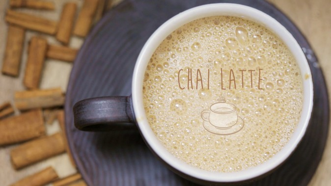 Warm chai latte. (Courtesy of Food Ease)