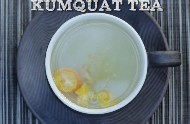 Kumquat tea for anyone who is in need of nerves soothing. (Courtesy of Food Ease)