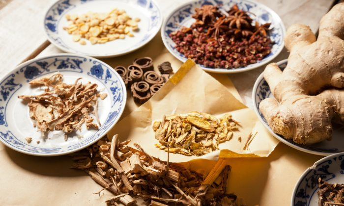 Chinese herbs and acupuncture can safely treat many symptoms of menopause. (Fotolia)