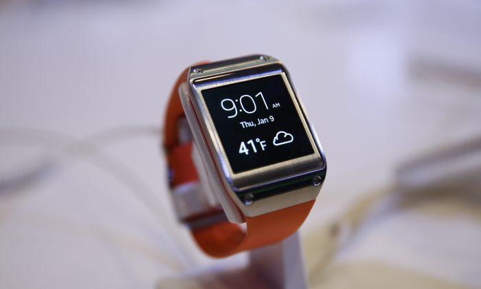 The Samsung Galaxy Gear (AP Photo/Jae C. Hong)