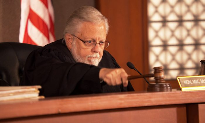 """A divorce court judge as seen in the documentary """"Divorce Corp."""" (Courtesy of Divorce Corp)"""