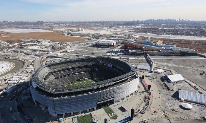 MetLife Stadium in East Rutherford, New Jersey on Jan. 28, 2014. (John Moore/Getty Images)