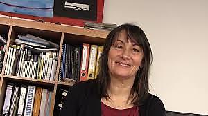 Alena Panikova, Executive Director of the Open Society Foundation in Slovakia