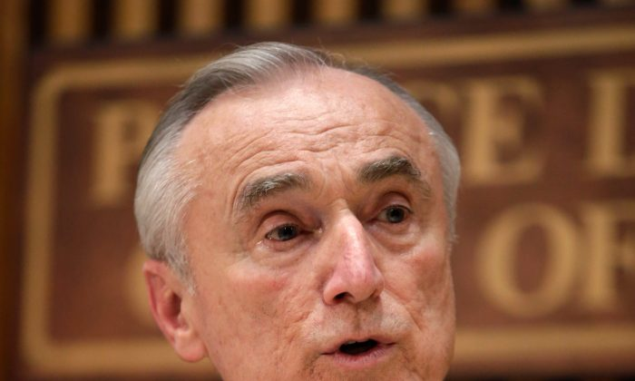New York City Police Commissioner Bill Bratton on Jan 2, 2014. (Kathy Willens/AP)