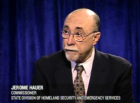 A file photo of Jerome Hauer. (nysenate.gov)