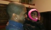 'Confused Baby Girl Meet Her Father's Twin Brother For The First Time' Video Goes Viral