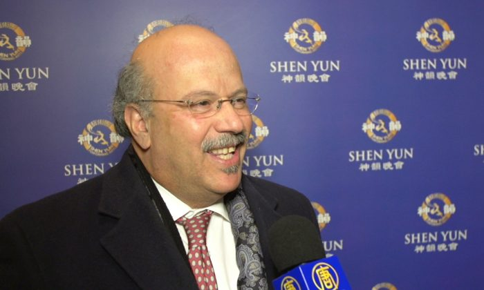 Wall Street Banker: Shen Yun 'Absolutely Spectacular'