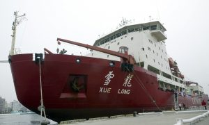 US Called to Rescue Chinese Ship Trapped in Antarctic