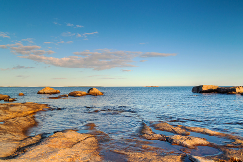 A file photo of the Baltic Sea off Sweden's coast. (Shutterstock*)