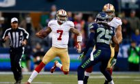 San Francisco 49ers Lead Seattle Seahawks 10–3 at Halftime in NFL NFC Championship Game