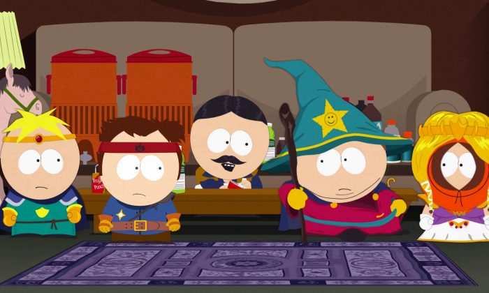 "This photo provided by Nintendo shows a scene from the video game, ""South Park: The Stick of Truth"". (AP Photo/Nintendo)"