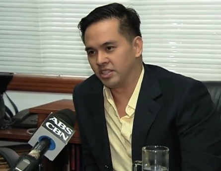 Cedric Lee. (Screenshot/ABS-CBN)