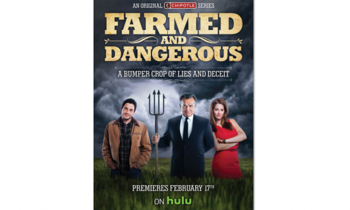 "A poster for ""Farmed and Dangerous."" (Business Wire)"
