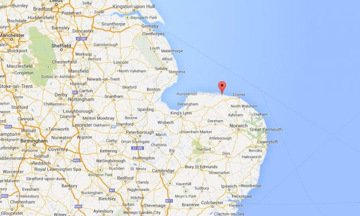 Google Maps shows the location of Cley-Next-The-Sea