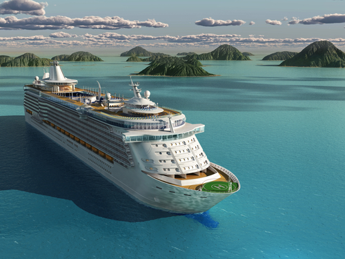 A file photo of a cruise ship. (Shutterstock*)