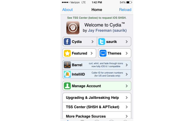 "Cydia - the ""jailbreak app store"""
