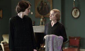 Downton Abbey Series 5: Stars Michelle Dockery and Allen Leech Film in Oxfordshire