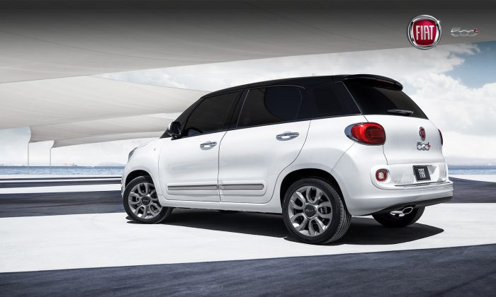 2014 Fiat 500L wagon (Courtesy of Fiat)