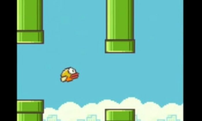 A screenshot shows Flappy Bird.