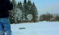 Bubble, Bubble, Bubble, Ice! What Happens to Giant Bubbles in -4°F (Video)