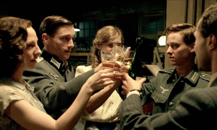 """A still from """"Generation War,"""" originally aired as a television miniseries, now showing in its entirety at Film Forum. (ZDF/David Slama)"""