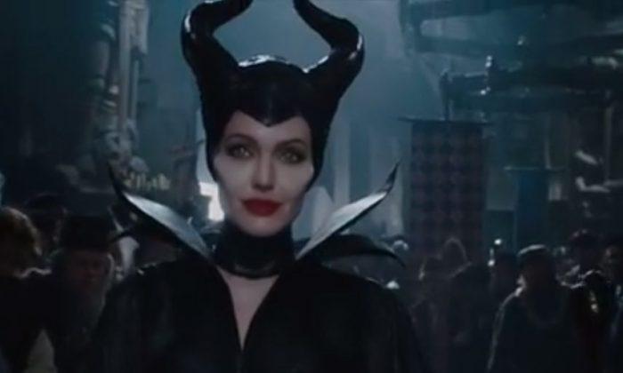 Screenshot of the 'Maleficent' trailer. (Disney)