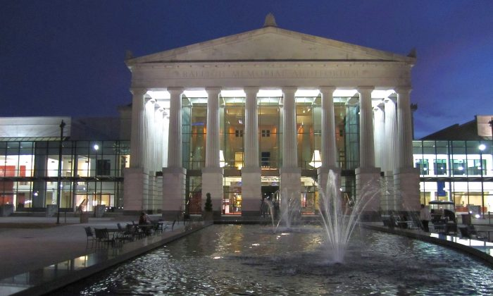 Duke Energy Center for the Performing Arts in Raleigh. (Epoch Times)