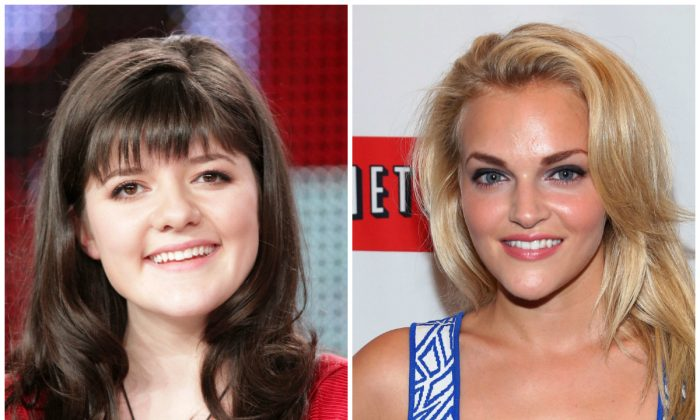 """New """"Hemlock Grove"""" for season 2 cast members include Madeleine Martin, left, and Madeline Brewer. (Frederick M. Brown/Getty Images; Rob Kim/Getty Images)"""