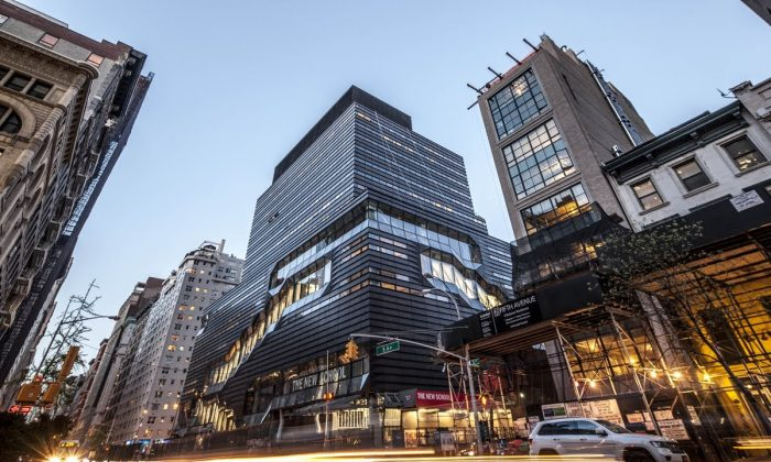 The New School University Center at 14th Street and 5th Avenue, Manhattan, New York, Jan. 23, 2014. (Courtesy of The New School).