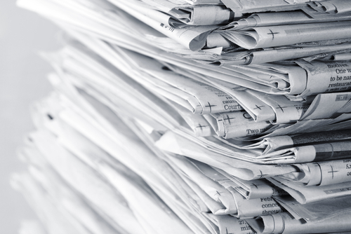 It is becoming fashionable to talk about the death of newspapers. Whatever froth and hullabaloo we hear from think-tanks, media consultants, digital futures gurus, newspapers are going to be wanted, needed and read for a very long time, says professor of broadcast journalism at Goldsmiths, University of London, Tim Crook. (Shutterstock*)