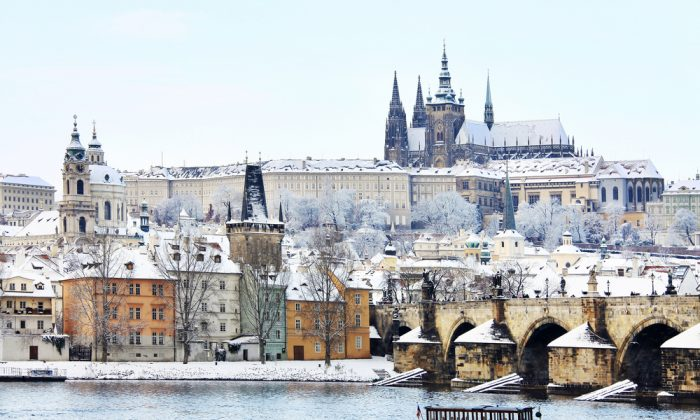 Romantic snowy Prague. (*Shutterstock)